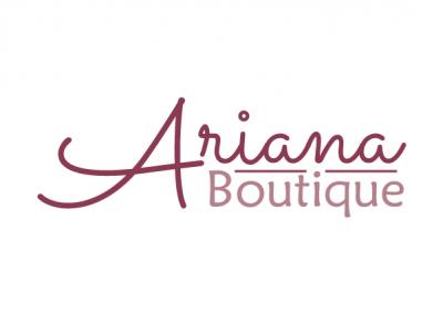 Diseño de Identidad Corporativa Ariana Boutique